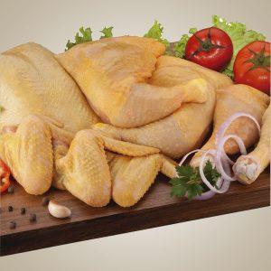 "Pollo certificado ""Aldea"""